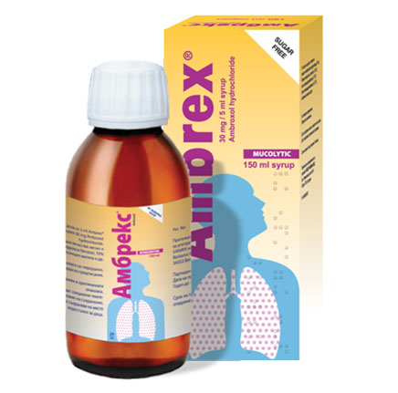 Амбрекс, Ambrex сироп 30 мг/5 мл 150 мл