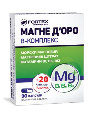Магне Доро В-комплекс, Magne Doro B-complex 30