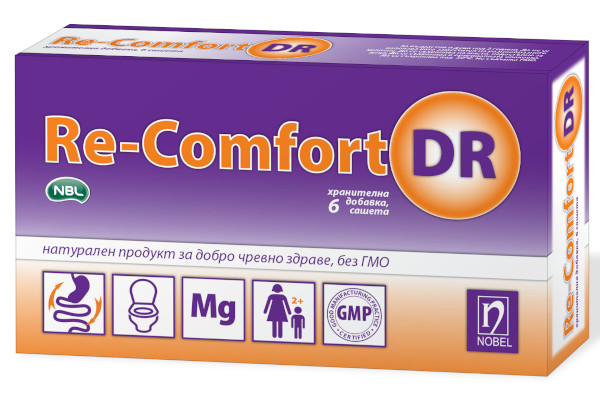 Ре-Комфорт ДР 6 сашета за добро чревно здраве