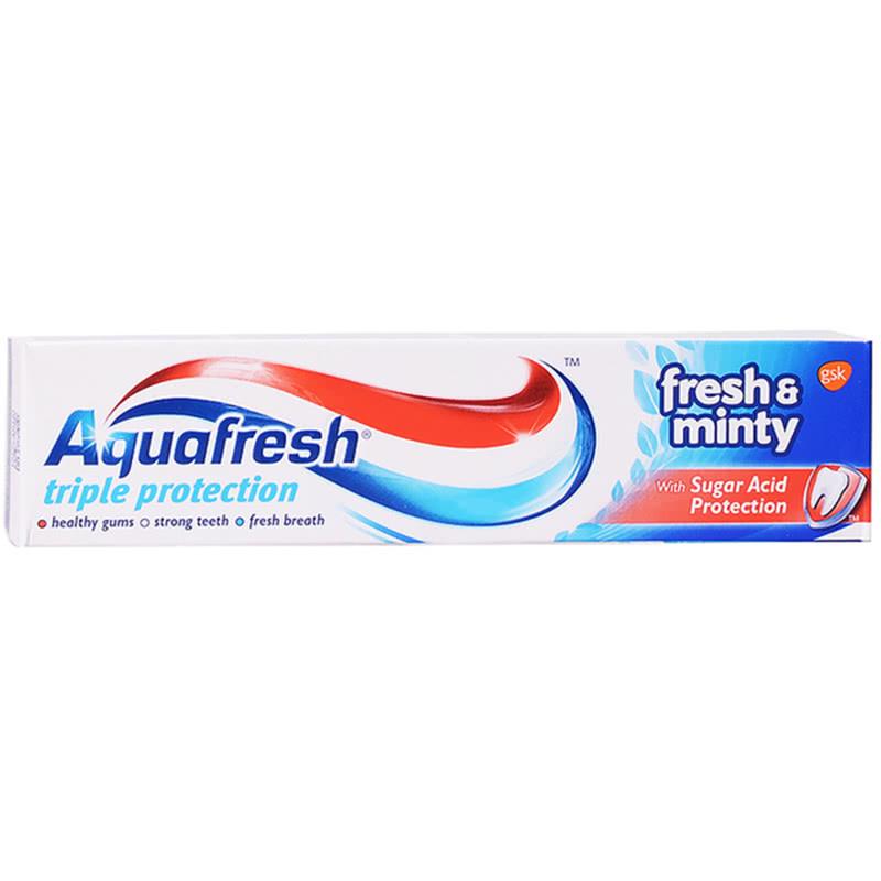 Аквафреш паста за зъби fresh y minty 50ml
