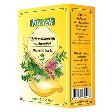 Чай за бъбреци по Ламбрев x70 г Билек