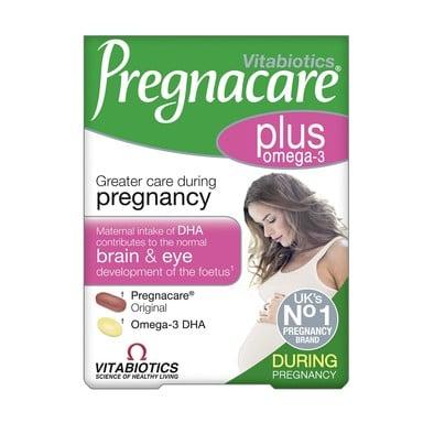 Pregnacare Plus Витамини за бременни х28 таблетки и Оmega-3 x28 капсули Vitabiotics
