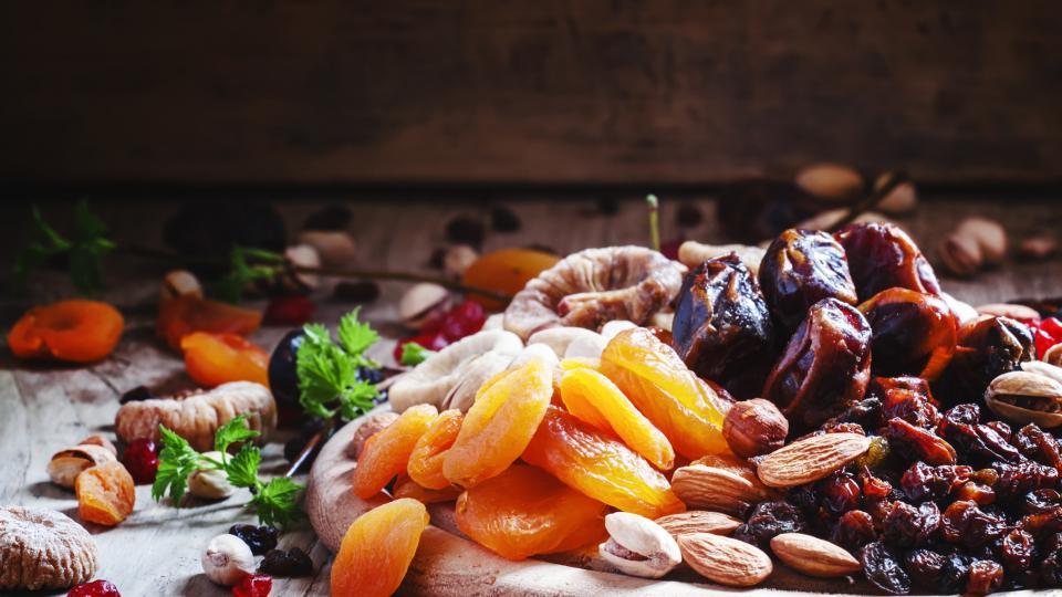 По-здрави и с тонус ползвайки сушени плодове