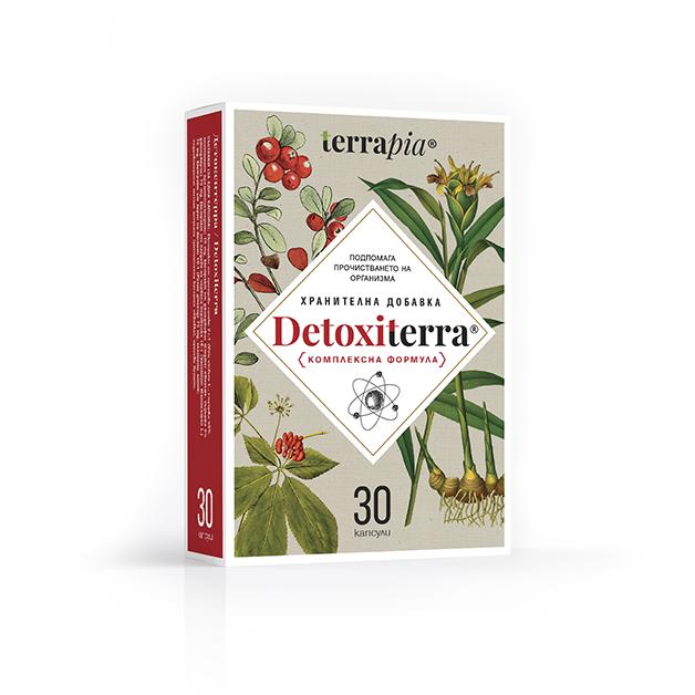 ДЕТОКСИТЕРА капсули 30 броя / TERRAPIA DETOXITERRA