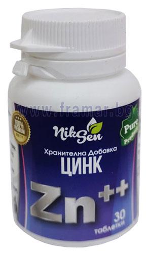 ЦИНК таблетки * 30 НИКСЕН
