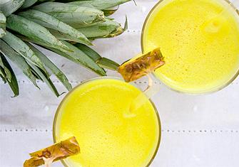 Сок от джинджифил и ананас намаляват драстично възпалителните процеси в тялото.